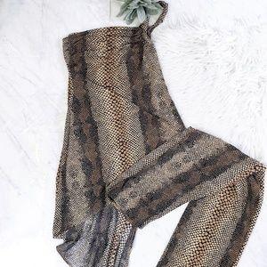 Vintage Janine Brown Python Snakeskin 90s Outfit